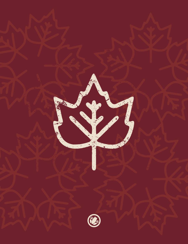 Autumn icon background